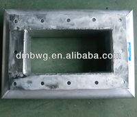 Stainless steel rectangular square expansion joints