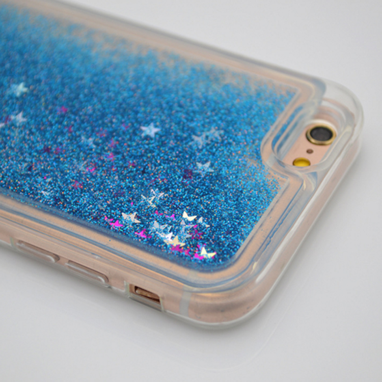 Creative design Colorful Dynamic Glitter Star Sand TPU Phone Case mobile phone accessories sand case