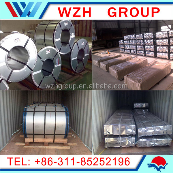 China steel mills Price list galvalumed az150/gl/ppgl galvanized steel coils from China supplier