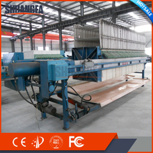 Automatic Chamber Filter Press Machine With Quick Filter Cake Discharge System