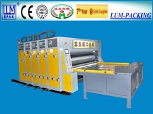 LUM-D flexo printer and slotter machine/corrugated carton production line/ packaging machine with CE & ISO9001