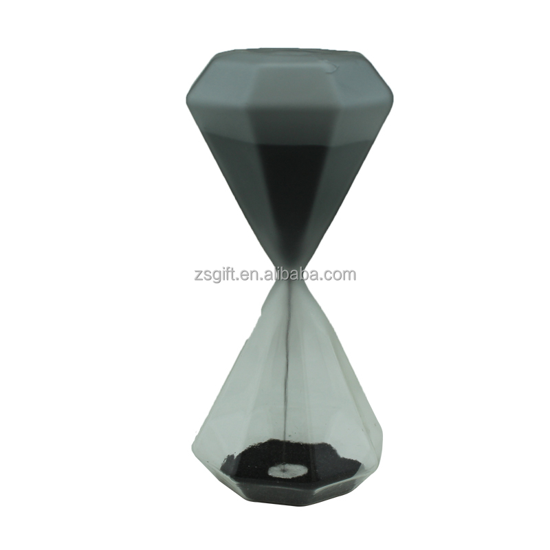Engraved hourglass brass hourglass sand timer