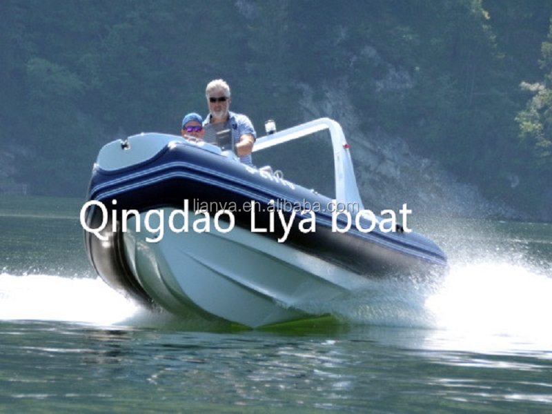 Liya 17ft 10 persons rigid hull rib boat us navy ships for sale