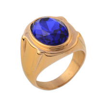Fake Good Gemstone Designs Neelam Stone Ring For Men