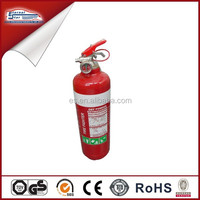 1KG dry powder AS/NZS Approval car fire extinguisher