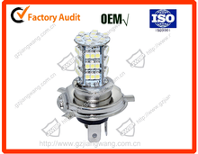 Top quality motorcycle light bulbs H4 P43T LED