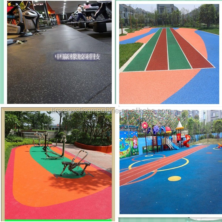 rubber paving bricks / kids rubber bricks / playground rubber brick