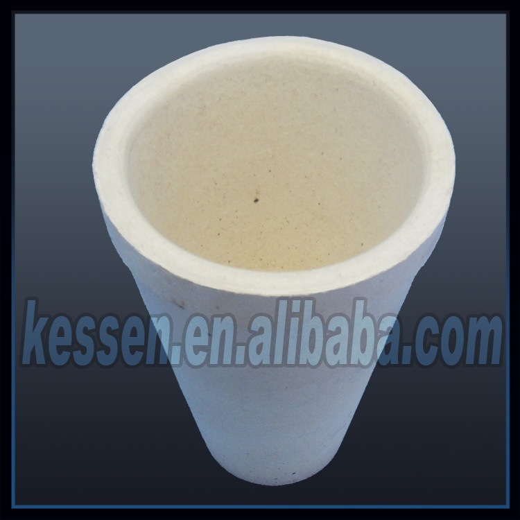 [KESSEN CERAMIC] Fire assay crucible/cupel used in cupellation furnace
