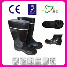 Oil water resistant Working industrial PVC safety boots price