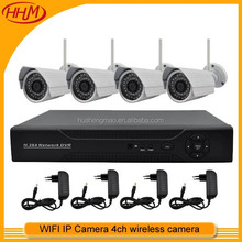 960P Wireless NVR Kit Security Camera Systems 4CH Wireless HD AV Transmitter Receiver Kit
