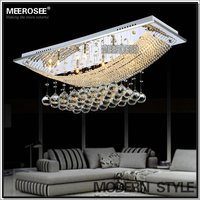 Modern Crystal Light, Change Light Bulb High Ceiling MD5018