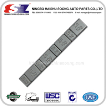 Wheel weight block, wheel balance block, tire weight block