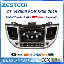 Double din Car GPS Multmedia system for Hyundai 2015 Hyundai IX35 car dvd player BT, radio, fm, 3g, wifi, usd