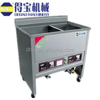 China/Chinese manufacture chicken pressure fryer machine with 2 tanks