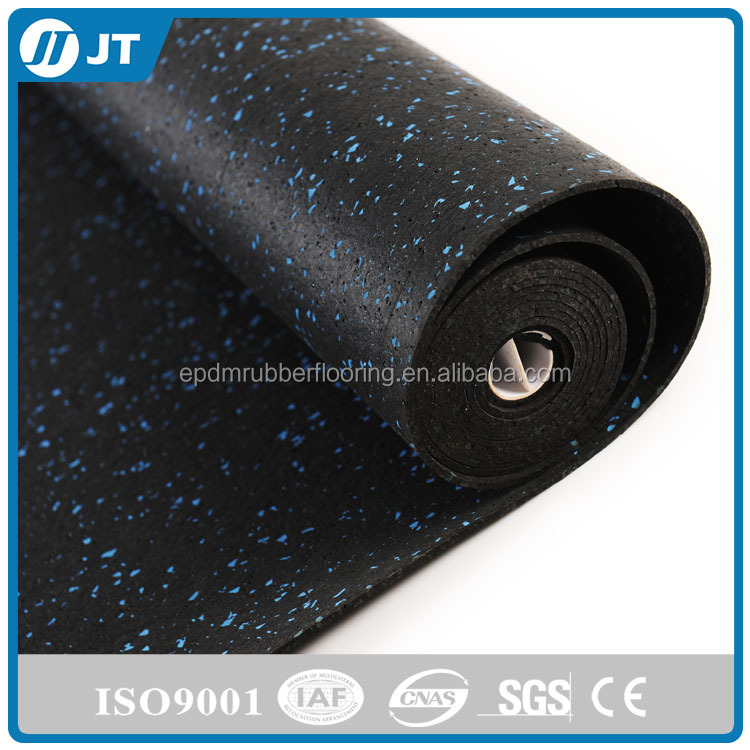Indoor gym rubber flooring for safety flooring surfaces