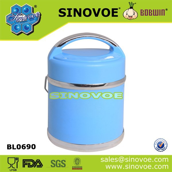 Wholesale promotional portable food storage container/fresh food warmer
