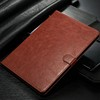 Best Quality Crazy Horse Leather Case for iPad mini 4 for iPad mini 2 3 4 tablet Stand Case