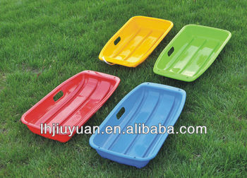 plastic snow sledge for adults/grass slide sledge/snow boat/snow scooter adult/sled
