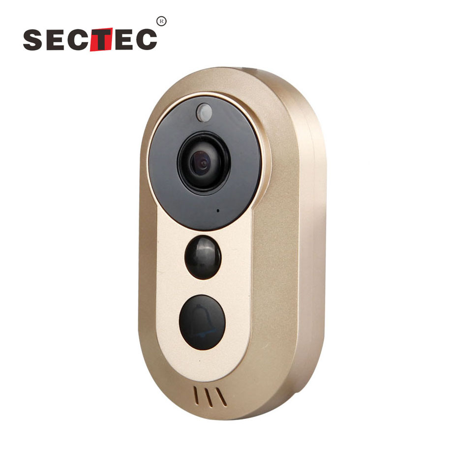 720P Single Streaming Smart Home Security System Wireless video IP Video Door Bell
