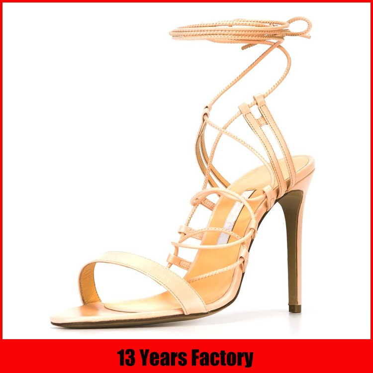 china 14 years shoes factory footwear sex women high heel sandal