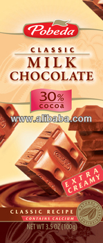 milk chocolate 30% cocoa