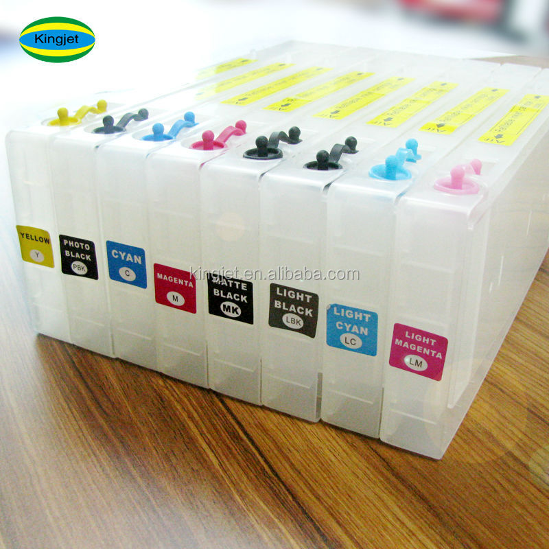 Refill ink cartridges for Epson stylus pro 4000 7600 9600 inkjet printer