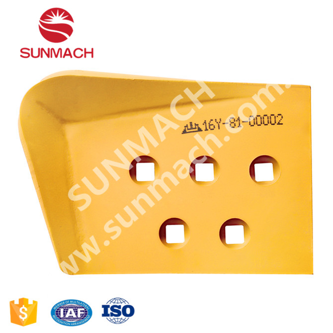 SD16 End Bit Bullzoer Blade Manufacturer 30MNB 16Y-81-00002 SUNMACH Factory 30MM Wear Parts