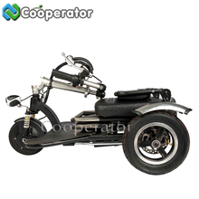 Power supply Mini three wheel electric motor bike, Electric Tricycle Pedal Assisted, Tricycle for Elderly