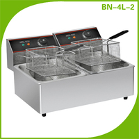 Commercial use Stainless steel kitchen equipment Desktop electric fryer restaurant deep fryers (the best choice for the cook)