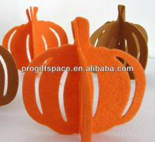 2018 handmade felt pumpkin decoration for festival made in China