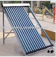 Solar collector manifold for water heating system