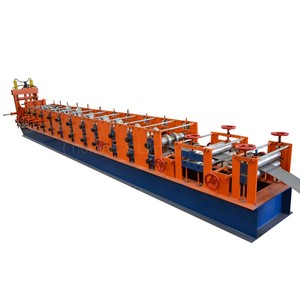 Popular Customized Cast Iron Memorial Arch Automatic C Z Channel Purlins Poll Roll Forming Machine For Steel