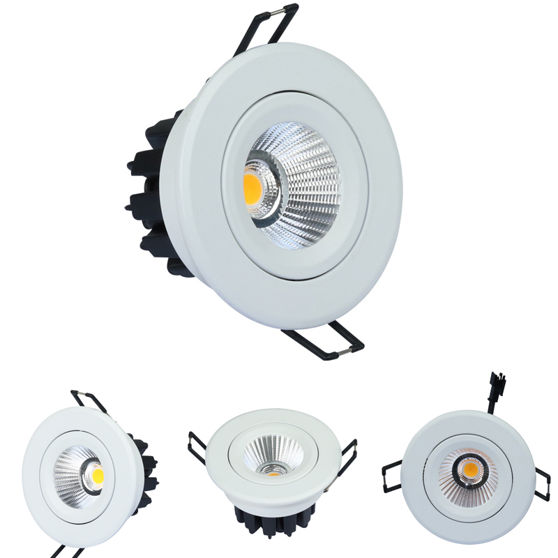 Fire Rating and Aluminum Lamp Body Material led downlight australian standard