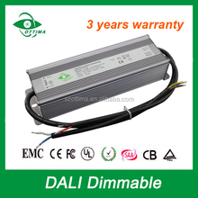 with IP 67/pf 0.98 constant current dali led driver 40v 200w dimmable