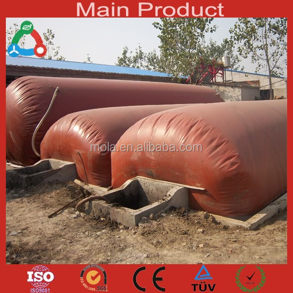 Mola Technology Biogas Storage Tank/Biogas Balloon Household PVC Mini Biogas Digester