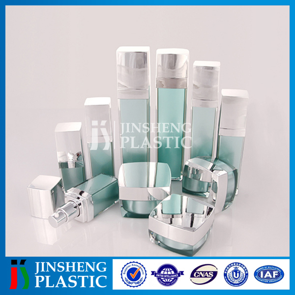 OEM factory New design Recyclable Plastic Lotion use plastic cosmetic bottle and jar