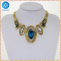 New crystal statement necklace hidden camera necklace