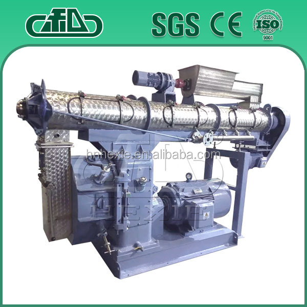 Automatic cattle feed manufacting plant process