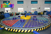 inflatable big red balls/Wiped out inflatable obstacle course,inflatable wipeout