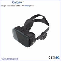 3D VR Headset Box With Headphone
