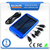 2015 Shenzhen Hot Sale Super Fast 1A Output 5000 mAh Mobile Solar Charger
