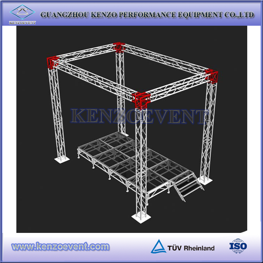 Aluminum exhibition truss stage truss for sale
