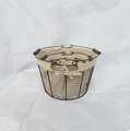 cheap wire baskets set with fabric lining LYT13000
