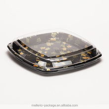 plastic PS food packaging sushi tray