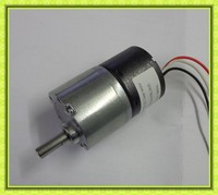 bi-directional dia. 37mm dc spur gear motor with low rpm and high torque 12v 24v dc