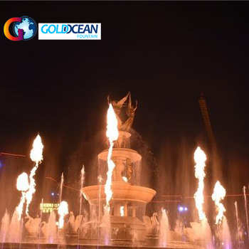 Water Mixed Fire Fountain Nozzle