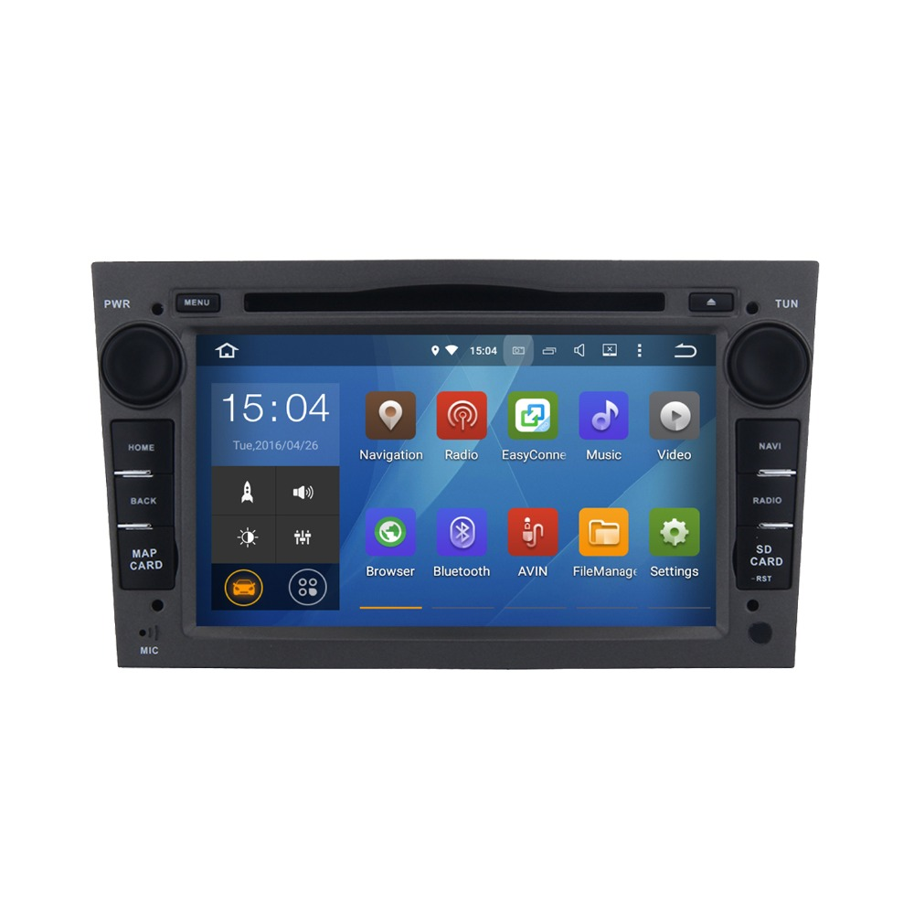 7 inch 3D Live Wallpaper Android 5.1.1 car audio dvd player gps navigation system for Opel Vectra C from 2004