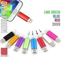 Custom LOGO 8GB Micro OTG USB Smartphone Mobile Tablet Memory Stick Flash Drive for SAMSUNG