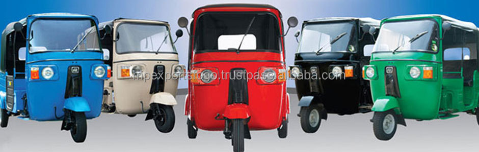 Bajaj auto rickshaw spare parts for colombia