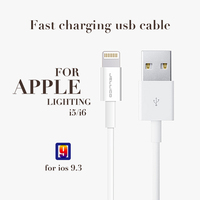 Wholesale New product USB data and charging cable, metal shell for Iphone 7